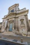 DES Jesuites, Chaumont, France de Chapelle images stock