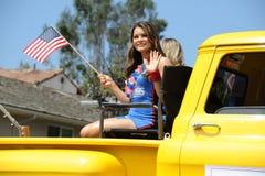 4. des Juli-Parade-Huntington Beach CA USA Lizenzfreies Stockbild