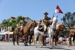 4. des Juli-Parade-Huntington Beach CA USA Stockfotografie