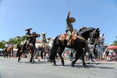 4. des Juli-Parade-Huntington Beach CA USA Stockbilder