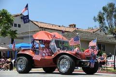4. des Juli-Parade-Huntington Beach CA USA Lizenzfreie Stockfotografie