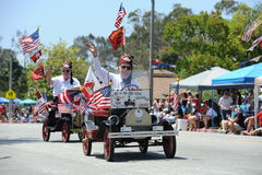 4. des Juli-Parade-Huntington Beach CA USA Stockfotos