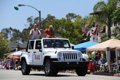 4. des Juli-Parade-Huntington Beach CA USA Lizenzfreie Stockfotos