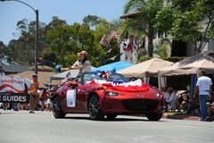 4. des Juli-Parade-Huntington Beach CA USA Stockfotos