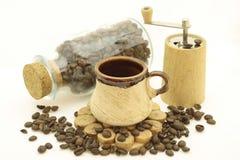 Des Kaffees Leben noch Stockfotos