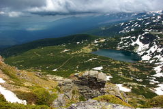 1 des 7 lacs 2 Rila Photographie stock libre de droits