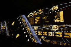 DES Lumieres 2014 di festa Immagini Stock Libere da Diritti