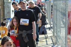 Des Marathons Stadt Vancouver unten Lizenzfreie Stockbilder