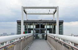 DES Marolles de Ascenseur en Bruselas Imágenes de archivo libres de regalías