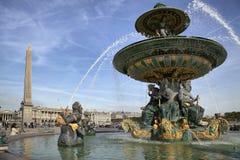 DES Mers, París de Fontaine Imagenes de archivo