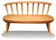 Des meubles en bois bruns illustration de vecteur