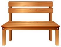 Des meubles en bois lisses Photographie stock