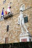 Des Michelangelos David Sculpture Lizenzfreies Stockfoto