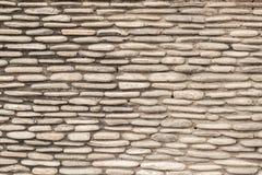 des modernen dekorative gebrochene wirkliche Steinwand Artdesigns des Musters Lizenzfreie Stockfotografie
