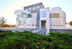 Des Moines Art Center Iowa, los E.E.U.U. imágenes de archivo libres de regalías