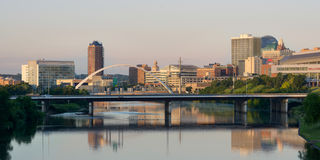 Des Moines Cityscapd Royalty Free Stock Photo