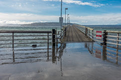 Des Moines Fishing Pier Royalty Free Stock Photos