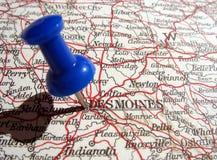 Des Moines, Iowa Imágenes de archivo libres de regalías