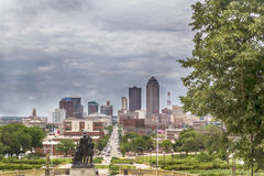 Des Moines Iowa Royalty Free Stock Images