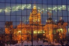 Des Moines, Iowa - de Bouw van het Capitool van de Staat royalty-vrije stock foto