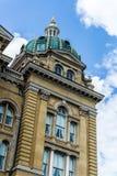 Des Moines Iowa het Capitool van de Staat royalty-vrije stock foto's