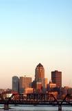 Des Moines, Iowa, horizonte Foto de archivo