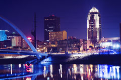 Des Moines, Iowa Stock Photo