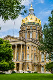 Des Moines Iowa State Capitol Royalty Free Stock Photo