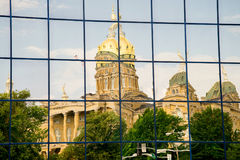 Des Moines Iowa State Capitol Stock Photography