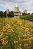 Des Moines, Iowa - State Capitol Building Stock Image