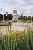 Des Moines, Iowa - State Capitol Building Stock Photography