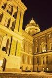 Des Moines, Iowa - State Capitol Building. Des Moines, Iowa - Capitol Building at night stock photo