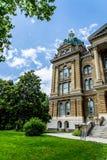 Des Moines Iowa statKapitolium Royaltyfri Foto