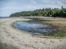 Des Moines, Washington At Low Tide Immagine Stock