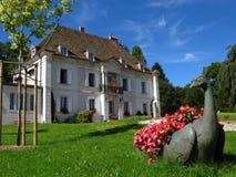 DES Monts 01, Le Locle, Suiza del castillo francés Fotos de archivo