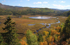 Des Monts-Valin Parc национальный стоковые изображения rf