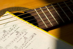 Des Musikals Leben noch Lizenzfreie Stockfotos