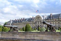 DES nacional Invalides de L'Hotel en París Imágenes de archivo libres de regalías