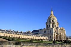 DES nacional Invalides do hotel, Paris, França Fotografia de Stock Royalty Free