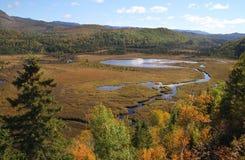 DES nacional Monts-Valin de Parc Imágenes de archivo libres de regalías