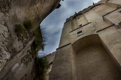 DES Papes d'Avignon Palais Photos libres de droits