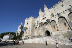 DES Papes de Palais à Avignon Images libres de droits