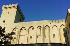 DES Papes de Palais à Avignon photographie stock libre de droits
