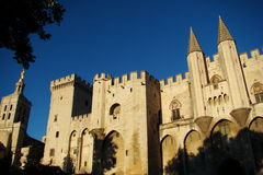 DES Papes de Palais en Avignon foto de archivo libre de regalías