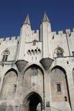 DES Papes de Palais en Avignon imágenes de archivo libres de regalías