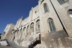 DES Papes de Palais en Avignon imagen de archivo