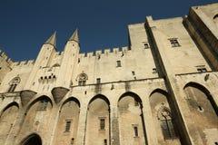 DES Papes di Palais a Avignon Immagini Stock Libere da Diritti