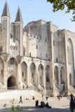 Des Papes Palais, Авиньон Стоковая Фотография RF
