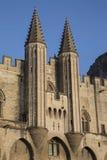 Des Papes Palais - дворец Пап, Авиньон Стоковые Изображения