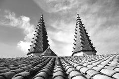 Des Papes Palais, Папы Дворец (деталь) - Авиньон, Франция, Европа Стоковое Фото